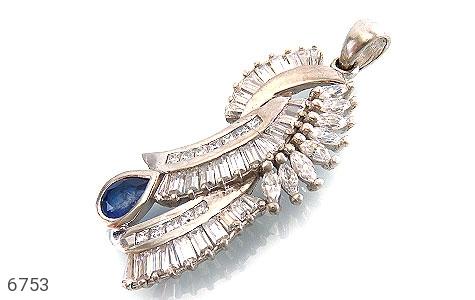 مدال نقره درشت طرح سلطنتی زنانه - عکس 1