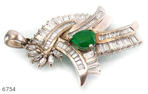 مدال نقره درشت طرح مجلسی زنانه - تصویر 2