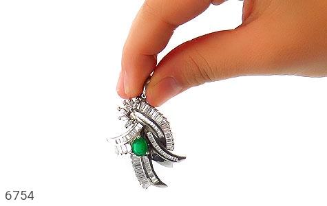 مدال نقره درشت طرح مجلسی زنانه - تصویر 6