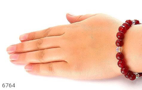 دستبند عقیق سرخ تراش زنانه - تصویر 6