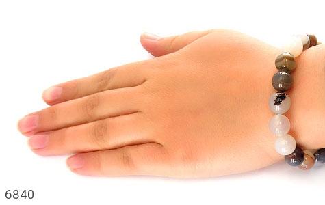 دستبند عقیق شجری درشت زنانه - تصویر 6