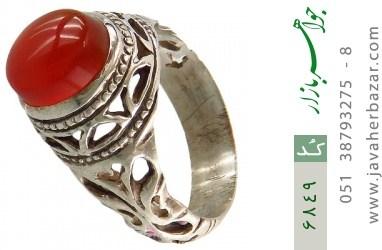 انگشتر عقیق یمن - کد 6849