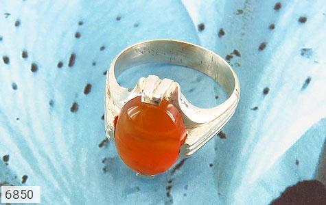 انگشتر عقیق یمن حکاکی شرف الشمس رکاب دست ساز - عکس 5