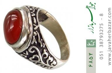 انگشتر عقیق یمن - کد 6852