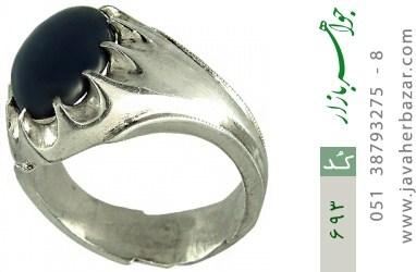 انگشتر یاقوت استار رکاب دست ساز - کد 693