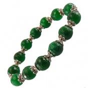 دستبند جید تراش خوش رنگ زنانه