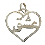 مدال نقره طرح عشق