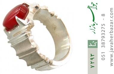 انگشتر عقیق یمن سرخ خوش رنگ مردانه
