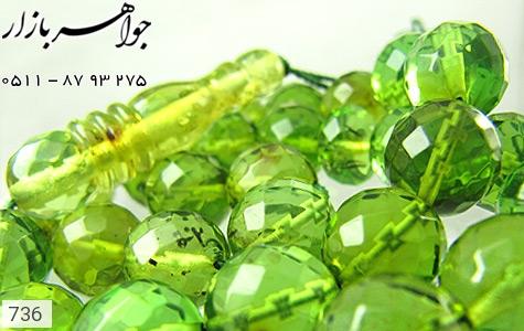 تسبیح کهربا سبز بی نظیر دریای بالتیک - تصویر 4