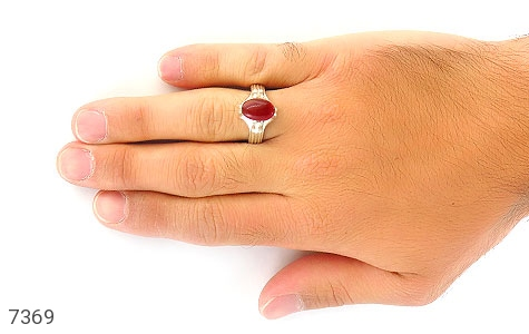 انگشتر عقیق یمن رکاب دست ساز - عکس 5