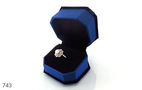 جعبه جواهر انگشتری مخمل - تصویر 4