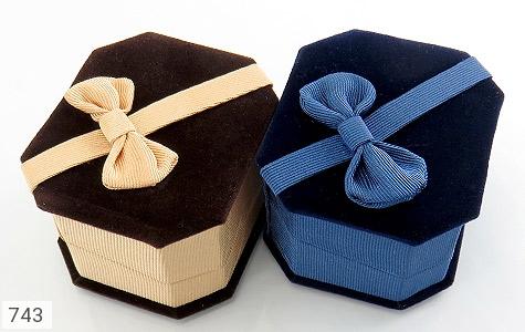جعبه جواهر انگشتری مخمل - عکس 5