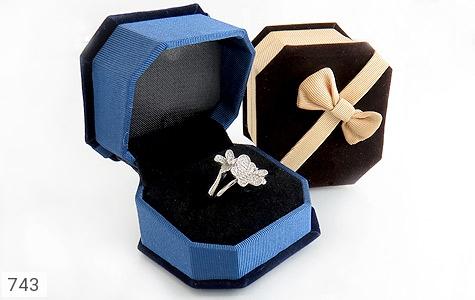 جعبه جواهر انگشتری مخمل - تصویر 6