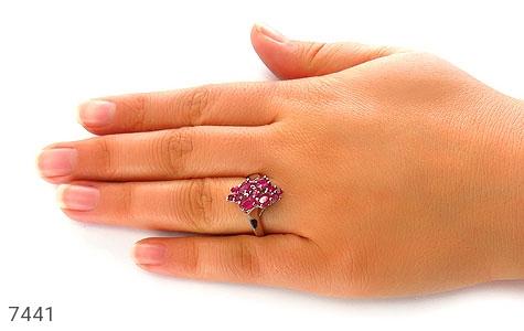 انگشتر یاقوت سرخ درخشان زنانه - تصویر 6