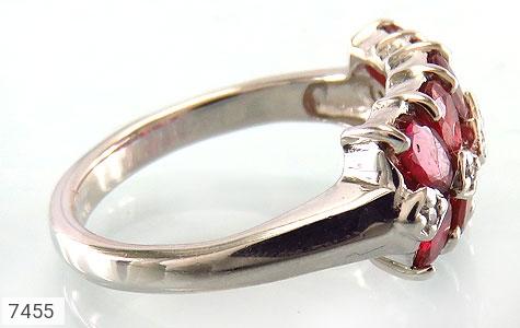 انگشتر یاقوت سرخ پرنگین طرح یگانه زنانه - تصویر 2