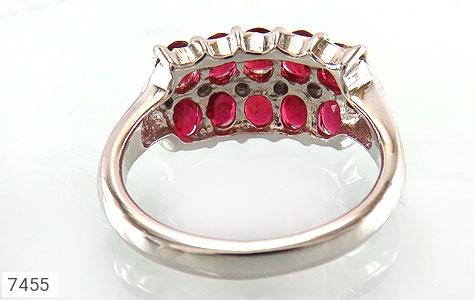 انگشتر یاقوت سرخ پرنگین طرح یگانه زنانه - تصویر 4