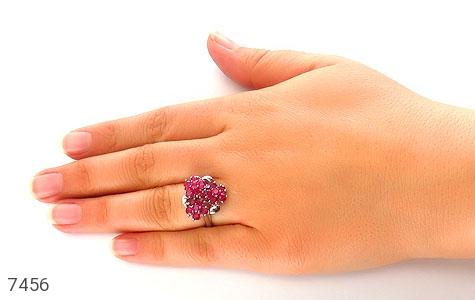 انگشتر یاقوت سرخ سلطنتی و باشکوه زنانه - تصویر 6