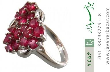 انگشتر یاقوت سرخ سلطنتی و باشکوه زنانه - کد 7456