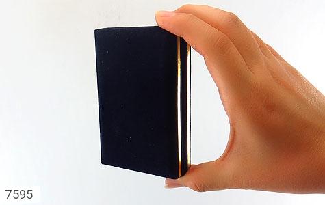 جعبه جواهر مخمل مستطیل - عکس 7