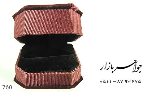جعبه جواهر انگشتری مخمل - عکس 3