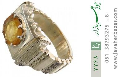 انگشتر یاقوت آفریقایی هنر دست استاد شرفیان - کد 7768