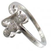 انگشتر نقره فانتزی جذاب زنانه