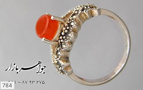 انگشتر عقیق زنانه - عکس 1