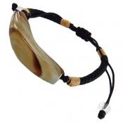 دستبند عقیق باباقوری درشت خوش رنگ