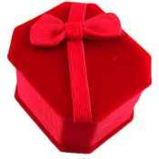 جعبه جواهر انگشتری مخمل