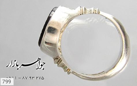 انگشتر عقیق حکاکی حسین منی و انا من حسین رکاب دست ساز - تصویر 4