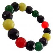 دستبند جید رنگین کمانی جذاب زنانه