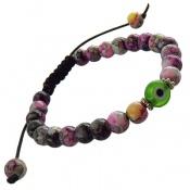 دستبند جذاب طرح رنگین کمانی زنانه