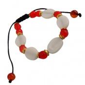 دستبند جید و عقیق خوش تراش و جذاب زنانه