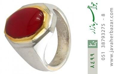 انگشتر عقیق یمن هنر دست استاد شرفیان - کد 8499