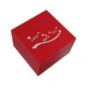 جعبه جواهر چوبی طرح Love