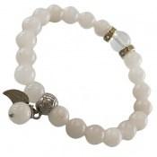 دستبند جید آویز برگ زنانه