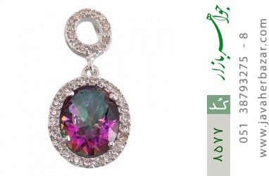 مدال توپاز هفت رنگ طرح رها زنانه - کد 8577