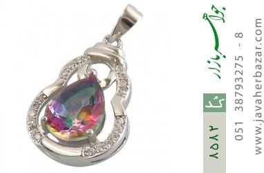 مدال توپاز هفت رنگ طرح محبوب زنانه - کد 8582
