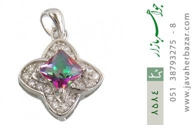 مدال توپاز هفت رنگ طرح ستاره زنانه - کد 8584