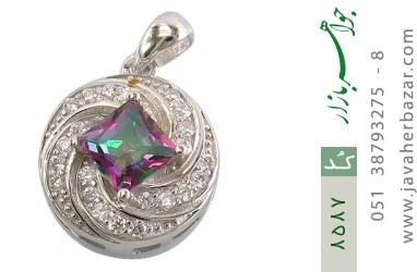 مدال توپاز هفت رنگ طرح هورتاش زنانه - کد 8587