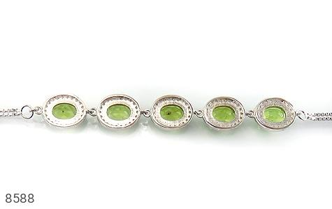 دستبند زبرجد درخشان و سلطنتی زنانه - تصویر 2