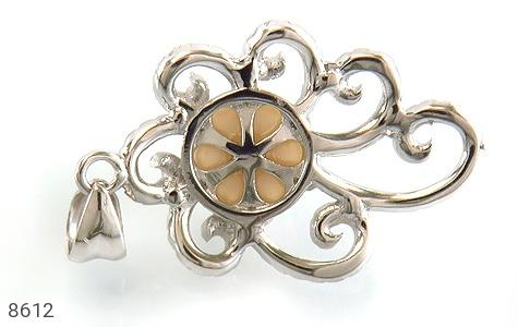 مدال مروارید درشت طرح عروس زنانه - عکس 3