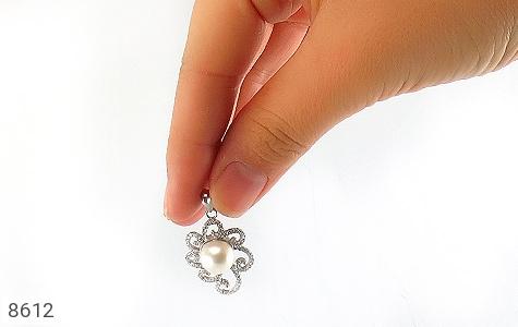 مدال مروارید درشت طرح عروس زنانه - تصویر 6