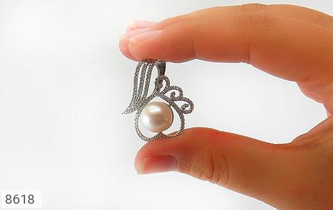 مدال مروارید درشت طرح دلبر زنانه - تصویر 4