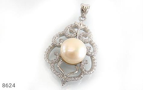 مدال مروارید درشت طرح ملکه زنانه - عکس 1