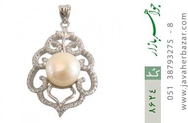 مدال مروارید درشت طرح ملکه زنانه - کد 8624