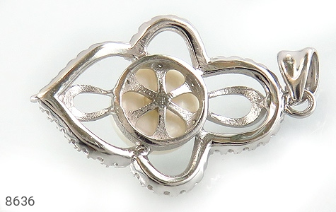 مدال مروارید درشت طرح هستی زنانه - تصویر 2