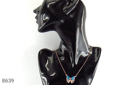 سینه ریز چشم گربه طرح پروانه درخشان زنانه - تصویر 6