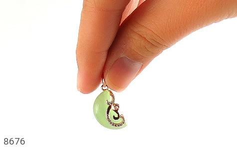 مدال چشم گربه طرح ماه زنانه - تصویر 6