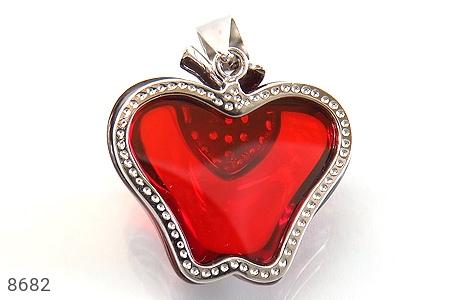 مدال نقره طرح سیب سرخ درشت زنانه - تصویر 2